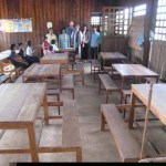 bare classroom
