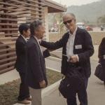 Kenro Izu + John Cassils Opening day