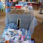 Dental outreach in a school room