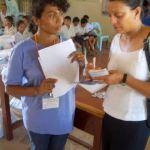 Nina with Geeta dental outreach